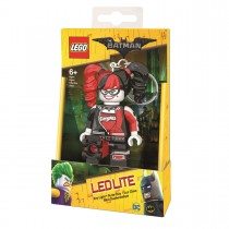 Брелок-фонарик для ключей LEGO Batman Movie - Harley Quinn (Харли Квин)