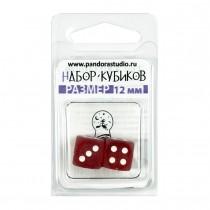 """Набор кубиков D6 """"Изморозь"""", 2 шт, в ассортименте"""