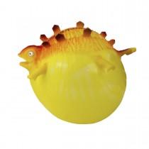 """Воздушный шарик """"Надувашки"""", серия динозавры, цвет желтый"""
