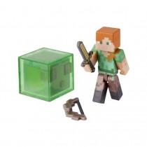 "Игрушка-фигурка Minecraft ""Alex"" с аксессуарами, 8 см"