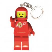 """Брелок-фонарик Lego Classic """"Spaceman"""", цвет красный"""