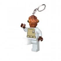 """Брелок-фонарик Lego Star Wars """"Адмирал Акбар"""""""
