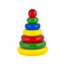 """Развивающая игрушка """"Пирамидка. Малышок 6Ш"""""""