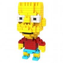 """Конструктор Diamond Block """"Барт - реальный пацан"""", нарушена упаковка товара"""