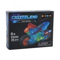 """Конструктор Crystaland """"Мини Мотоцикл"""", 38 деталей"""