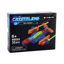 """Конструктор Crystaland """"Звездный корабль"""", 35 деталей"""