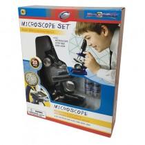 """Набор для исследований """"Микроскоп"""", 23 предмета"""