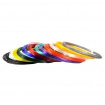 "Набор пластика для 3D ручек ""Unid PRO"", 10 м, 12 цветов"