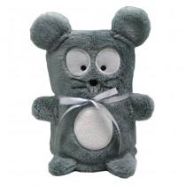 "Мягкая игрушка-плед ""Серый Мышонок"", 60 x 90 см"