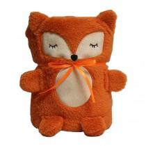 "Мягкая игрушка-плед ""Оранжевая Лисичка"", 60 x 90 см"