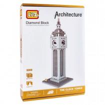 Конструктор Loz. Серия: Архитектура. Башня Биг Бен, нарушена упаковка товара