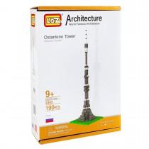 Конструктор Loz. Серия: Архитектура. Останкинская башня, нарушена упаковка товара