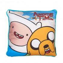 """Плюшевая подушка """"Adventure Time. Finn & Jake"""" (Эдвенчер тайм. Финн и Джейк), 30 см"""