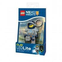"Брелок-фонарик Lego ""Рыцари Нексо. Клэй"" (Nexo Knights. Clay)"
