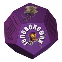 """Головоломка """"Додекаэдр"""", цвет фиолетовый"""