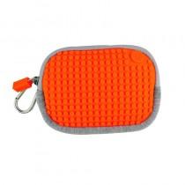 """Сумочка пиксельная """"Pixel Cotton Pouch"""", цвет светло-оранжевый"""