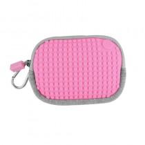 """Сумочка пиксельная """"Pixel Cotton Pouch"""", цвет светло-розовый"""