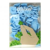 """Пиксельные фишки большие """"Upixel"""", цвет голубой"""