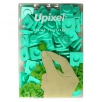 """Пиксельные фишки большие """"Upixel"""", цвет морская волна"""