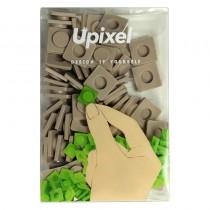 """Пиксельные фишки большие """"Upixel"""", цвет серый"""