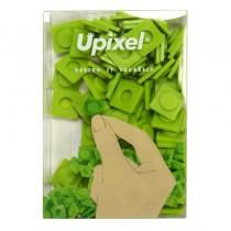 """Пиксельные фишки большие """"Upixel"""", цвет трявяной зеленый"""