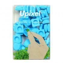"""Пиксельные фишки маленькие """"Upixel"""", цвет голубой"""