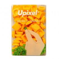 """Пиксельные фишки маленькие """"Upixel"""", цвет желтый"""