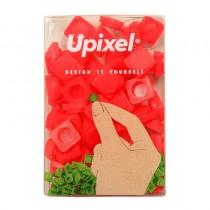 """Пиксельные фишки маленькие """"Upixel"""", цвет красный"""