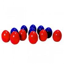 """Развивающая игрушка """"Счетный материал. Яйца"""", цвет красный/синий"""