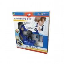 """Набор для исследований """"Микроскоп"""", 36 предметов, цвет синий"""