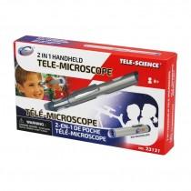 """Набор для исследований """"Компактный теле-микроскоп"""" 2 в 1"""