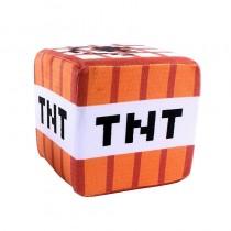 """Плюшевая игрушка """"Куб TNT Block"""" (ТНТ блок), 10 см"""