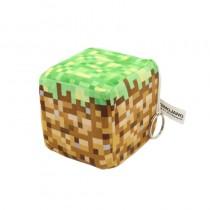 """Плюшевая игрушка """"Куб Dirt Block"""" (Грязевой блок), 10 см"""