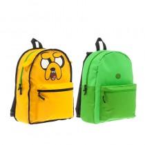 """Рюкзак """"Adventure Time. Finn's Bag & Jake Reversible"""" (Эдвенчер тайм. Финн и Джейк) двусторонний"""