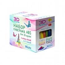 """Набор пластика для 3D ручек """"Honya. ABS"""", 12м, 6 цветов"""
