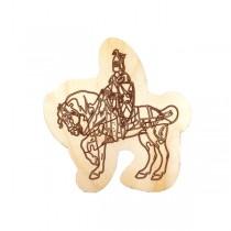 "Пазл деревянный ""Рыцарь на коне"""