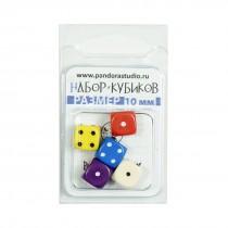 """Набор кубиков """"Для игр"""", 5 шт, в ассортименте"""