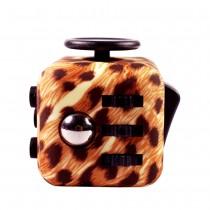 "Игрушка-антистресс Fidget Cube (Фиджет куб) ""Леопард"""