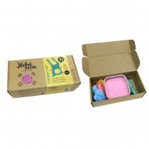 """Набор для творчества """"Живой Песок. Стандарт"""", 500 грамм с игрушками, цвет розовый"""