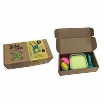 """Набор для творчества """"Живой Песок. Стандарт"""", 500 грамм с игрушками, цвет зеленый"""