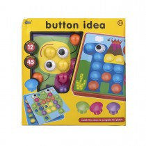 "Мозайка с кнопками ""Button idea"", 12 трафаретов"