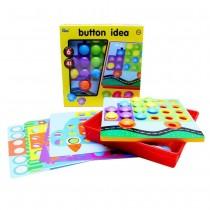 "Мозайки с кнопками ""Button idea"", 6 трафаретов"
