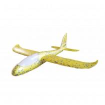 Самолет планер из пенопласта со светящейся кабиной, 48 см, в ассортименте