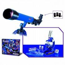 """Набор для исследований """"Телескоп и микроскоп"""", 35 предметов"""