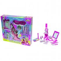 """Набор для исследований """"Микроскоп для девочек"""", 62 предмета"""