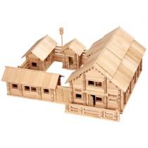 Конструктор «Постоялый двор», 1215 деталей