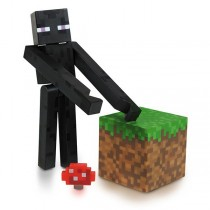 "Фигурка ""Minecraft Enderman"" Майнкрафт Странник края с аксессуарами, 8 см"