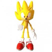 "Игрушка-фигурка ""Sonic Super Poser. Super Sonic"" (Соник Супер Позер. Супер Соник), 16 см"