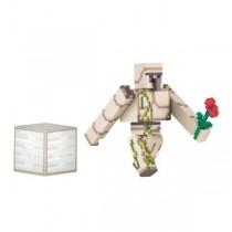 "Игрушка-фигурка ""Minecraft Iron Golem"" (Железный голем) с аксессуарами, 8 см"