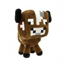 """Плюшевая игрушка Minecraft """"Детеныш коричневой грибной коровы"""", 18 см"""